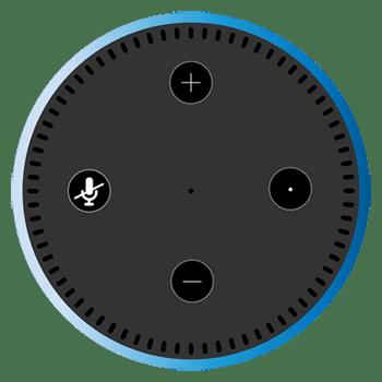 Graphic of Amazon Echo Dot