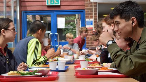 Residential Summer Camp Lunch